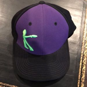 Ultimate Frisbee Purple abc black Breakmark Hat
